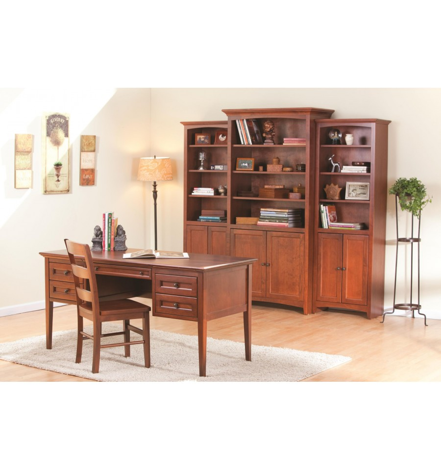 24 48 Inch Mckenzie Bookcases W Doors Wood You