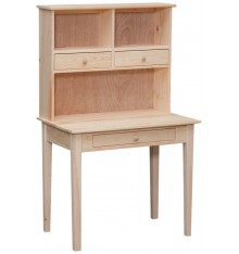 [35 Inch] Writing Desk and Hutch 640