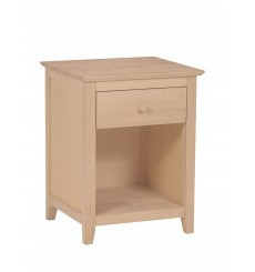 [20 Inch] Lancaster 1 Drawer Nightstand