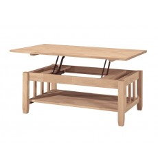 [42 Inch] Mission Lift Top Coffee Table