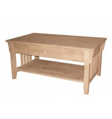 [38 Inch] Mission Coffee Table