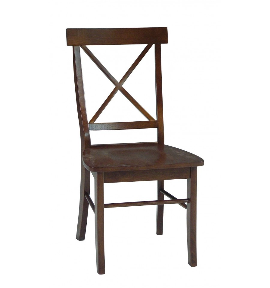 X-Back Side Chairs - Wood You Furniture