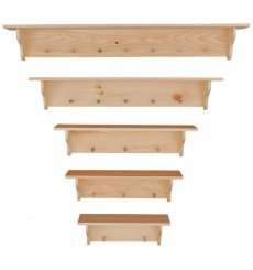 [24-60 Inch] Wall Shelves | Peg 101