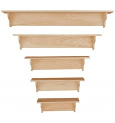 [24-60 Inch] Wall Shelves | Plain 101