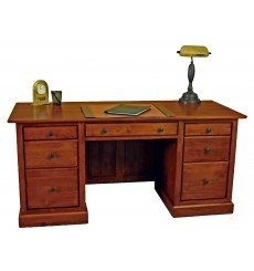 [64 Inch] Alder Shaker Executive Desk