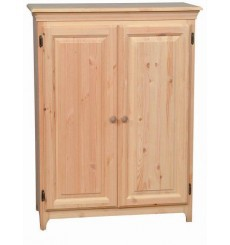 [20 Inch] AFC Pine 2 Door Jelly Cabinet