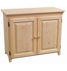 [20 Inch] AFC Pine 2 Door Console Cabinet