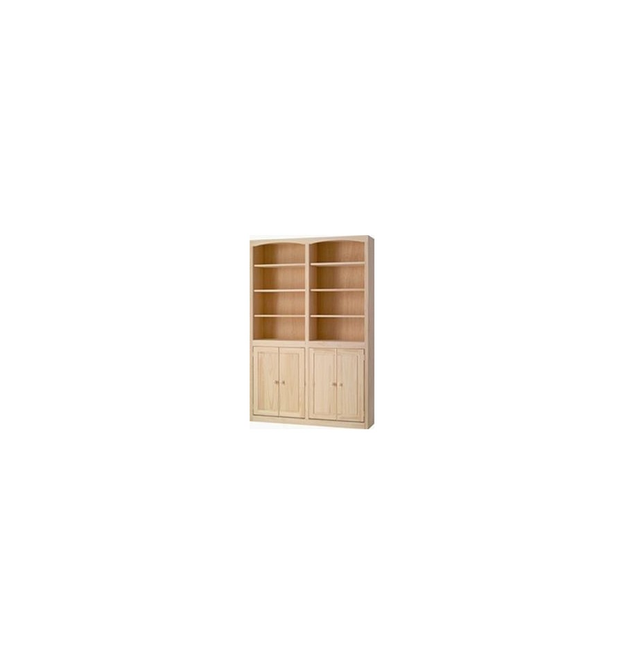 doors bookcase mckenzie w wood bookcases inch and trinidad furniture tobago you with