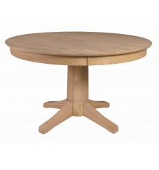 [52 Inch] Solid Dining Table - with T-7B Pedestal