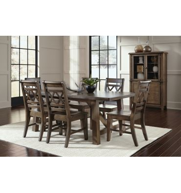 78 Inch 8 Pc Canyon XX Dining Group
