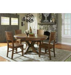 5 Pc Canyon Dining Group - Shown in Pecan