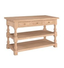 [60 Inch] Tuscan Kitchen Island