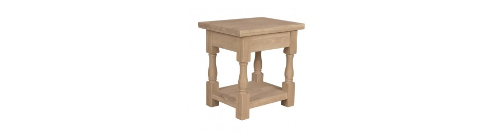 End and Accent Tables